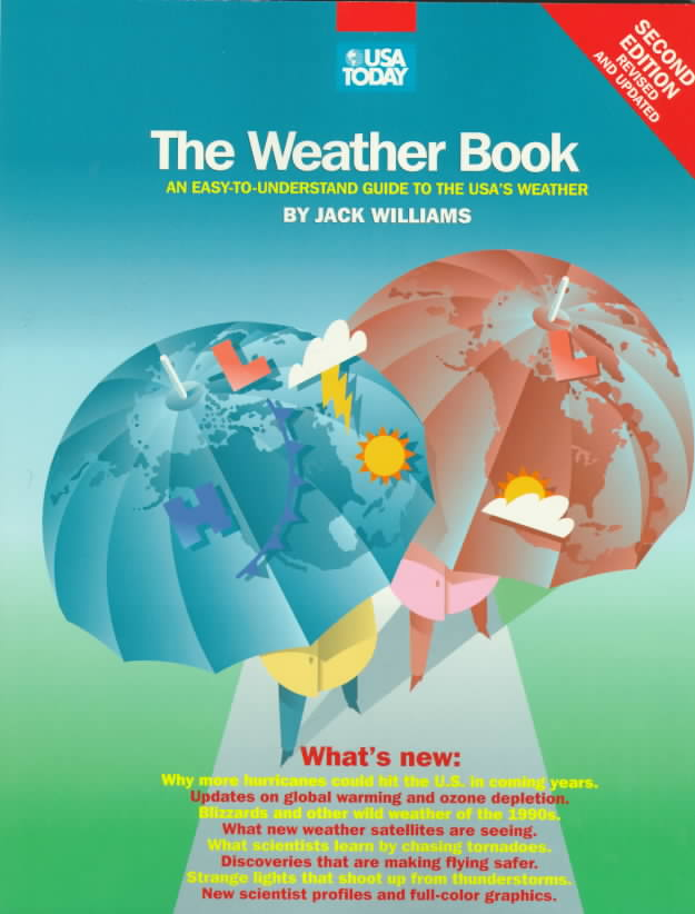 The Weather Book By Williams, Jack/ USA Today (CON)
